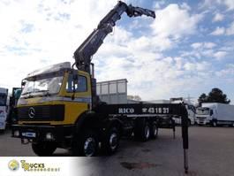 crane truck Mercedes-Benz SK 3535 Manual + HIAB 550-6-JIB 4 1998