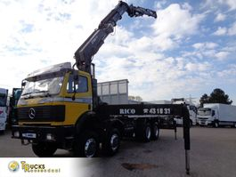 Kranwagen Mercedes-Benz SK 3535 Manual + HIAB 550-6-JIB 4 1998