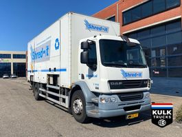 closed box truck DAF LF 55 / Walking Floor / Documents TAIL LIFT / ONLY 163.000 KM!!!! / TUV 10-2021 2009