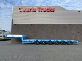 semi lowloader semi trailer ES-GE 6.SOU-4H-1N  6 ASSIGE SEMI DIEPLADER/TIEFLADER/LOWLOADER 2007