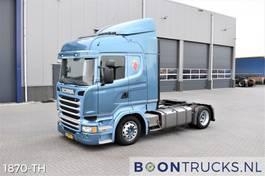 mega-volume tractorhead Scania R 4x2 | EURO6 * LOW DECK * RETARDER * FULL AIR * APK 12-2021 2014