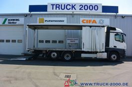 other trucks Mercedes-Benz Actros Stream Space Getränke Plane LBW 2 to 2016