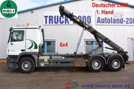 container truck Mercedes-Benz Actros 2641 6x4 Seilabroller 20 t 3 Pedale Klima 2008