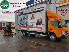tilt truck Mitsubishi Canter 9C18 Edscha inkl. Mitnahmestapler 1.5t. 2015