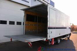 closed lcv Iveco 75E18 EEV Seitentür LBW 1.5 to 1.Hand Scheckheft 2012