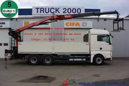 platform truck MAN TGX 26 EEV 6x4 Fassi F185BS22 10.9 m=1.47 t 2013