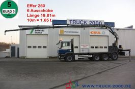 platform truck MAN TGS 35 8x4 Effer 250 6S 19.81m / 10m = 1.65t 2010