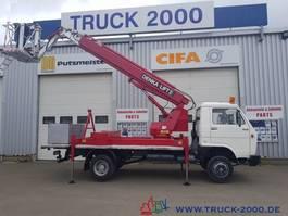 work platform lcv MAN 6.100 Denka Lift 23,5m+seitlich 11,3m aus 1.Hand 1993