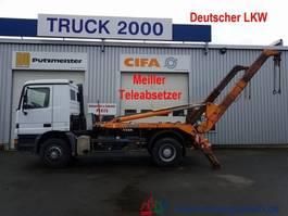 container truck Mercedes-Benz Actros 1831 Tele Meiller Deutscher LKW AHK 2000
