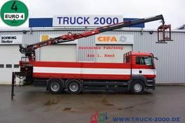 platform truck MAN TGS 26 6x4 Atlas Terex TLC 165.2 11 m=1.5 to 2008