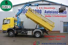 tipper truck > 7.5 t Mercedes-Benz Atego Meiller Kran 7.25m = 960 kg 1.Hd R-CD 2012