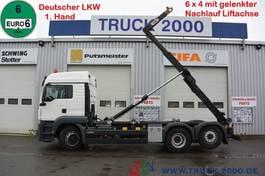 container truck MAN TGS 26 6x4 (H) 1.Hd Scheckheft Deutsches Fzg 2015