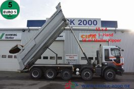 tipper truck > 7.5 t Renault Kerax 520 DXI 10x4 Meiller 1.Hand Halfpipe Stahl 2012