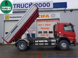 tipper truck > 7.5 t Volvo FMX 500 EEV 3 S.-Kipper AHK 39t. Retarder 1.Hand 2013