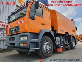 Kehrmaschine LKW Faun 18.280 MAN Viajet Besen Links/Rechts/Hecksauger 2005