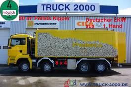 tank truck MAN TGA 8x4 30 m³ Spezial Pellets Kippaufbau 2006