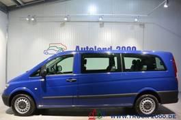 minivan - passenger coach car Mercedes-Benz Vito 115 CDI Extra Lang Automatik 7-Sitze Klima 2010