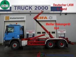 container truck Mercedes-Benz 2746 6x4 Meiller 1.Hand Deutscher LKW BC 2011
