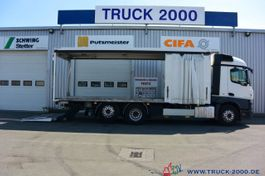 tilt truck Mercedes-Benz Actros 2543 StreamSpace Schiebeplane L/R LBW 2 T 2016