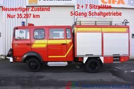 Kastenwagen Iveco 75E16 A Mannschaft- Feuerwehr Löschpumpe Top 1986