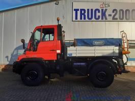 tipper truck Unimog U300 Winterdienst Salzstreuer Wechsellenkung 2003