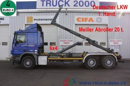 container truck Mercedes-Benz Actros 2644 6x4 Meiller RK 20.67 20 to. 1.Hand 2013