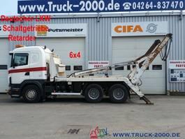 container truck Scania G480 164 6x4 V8 Tele Retarder*Schaltgetriebe 2004