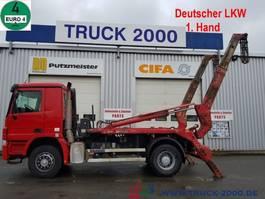 container truck Mercedes-Benz 1841 Meiller Tele 1. Hand Scheckheft gepflegt 2007