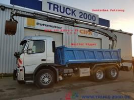 tipper truck > 7.5 t Volvo FM 340 Meiller Hiab122 HiPro+FB+5.+6.Steuerkreis 2006