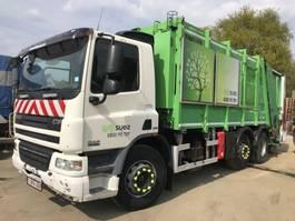 garbage truck DAF CF 75 **6X2-BELGIAN TRUCK-EURO 5** 2008