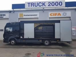 loading ramp - car transporter lcv Mercedes-Benz 823 Mersch Geschlossener Autotransporter Euro 6 2013