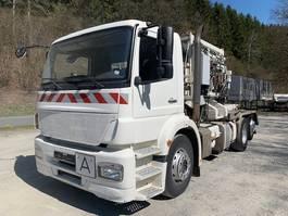 garbage truck Mercedes-Benz 2629 Axor ** Fahrgestell/Lift&Lenkachse/Klima ** 2008