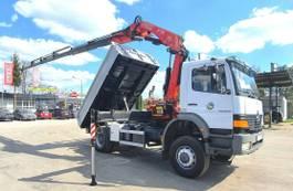 tipper truck > 7.5 t Mercedes-Benz Atego 1828 4x4 FASSI F175A 2006 !! Crane Kipper 2000