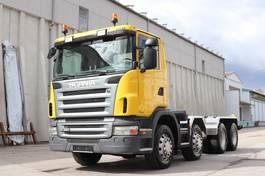 chassis cab truck Scania G480 8x4 Retarder E5 2009