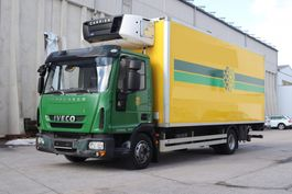 refrigerated truck Iveco EuroCargo 100 100E22 E5 Carrier 750Multi Bi-Temp. 2011