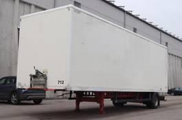 closed box semi trailer andere Spier SGL 155 1-Achs City 2005