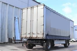 sliding curtain trailer andere Hangler 2PEL Durchlademöglichkeit LBW Alu Latten 2008