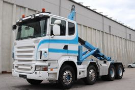 container truck Scania R500 8x4 Manuell V8 AHK E5 Leasing 2008