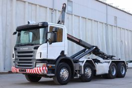 container truck Scania P420 8x4 Manuell Retarder AHK E5 Leasing 2007