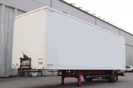 closed box semi trailer andere Spier WSPSGL 155 1-Achs City 2005