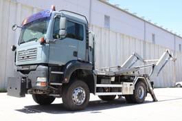 container truck MAN TGA 18 4x4 Welaki E4 Reifen 80% 2006