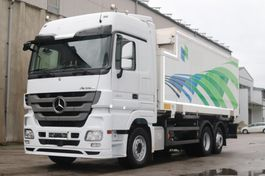swap body truck Mercedes-Benz Actros 2541 6x2 E5 Kühlkoffer Bi Temp LBW 2010