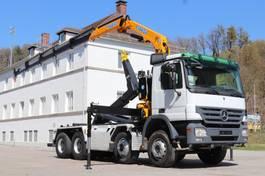 container truck Mercedes-Benz Actros 3246 03.2021 Neuer Kran Effer 150 8x4 E5 Leasing 2008