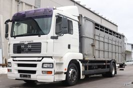 livestock truck MAN TGA 18 E4 4x2 manuell Retarder 2005