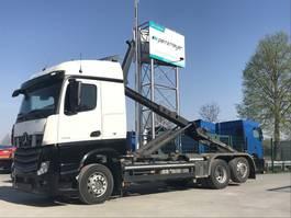 container truck Mercedes-Benz Actros 2542 02.2021 LEuro 6 Meiller Abroller RK 2070 2013