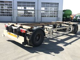swap body trailer Ackermann 2 Achs Lafette EAF 18-7,4 105 TE verzinkt, 2 x vorhanden 2009