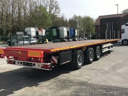 Plattform Auflieger Humbaur 06.2021 Plateau-Auflieger Sumo SP 13.7 Lenk + Liftachse Rungen+Container... 2018