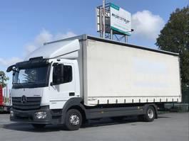 tilt truck Mercedes-Benz Atego 1224 06.2021 1224L niedr.Rahmen, 6 Zyl. AHK, Schaltgetr. Klima, Diff-sperre, ... 2015