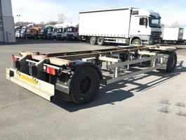 swap body trailer Ackermann 01.2021 2 Achs Lafette EAF 18-7,4 105 TE verzinkt, 2 x vorhanden 2009