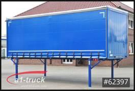 curtain slider swap body container Krone WB 7,45 BDF Tautliner, neue Plane 2015